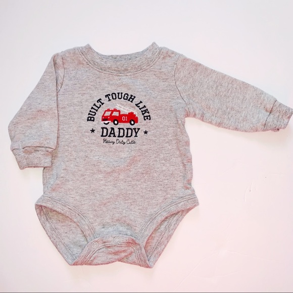 b60bc2012 Carter's One Pieces | Carters 3 Month Firetruck Onesie 510 | Poshmark